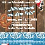 Einladung zum Pelzmärtelturnen 2016